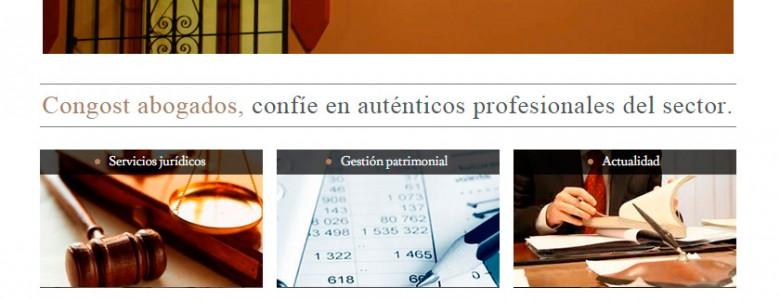 páginas web para buffetes de abogados