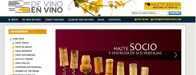 Montar tienda de vino
