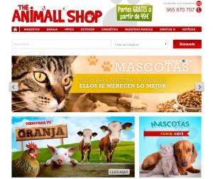 montar tienda online animales