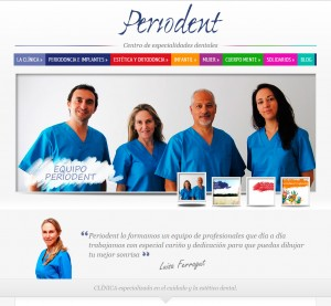 crear web clinica dental dentista