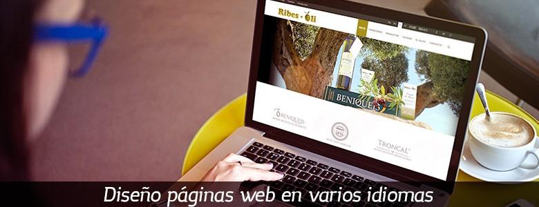 Crear una web varios idioma