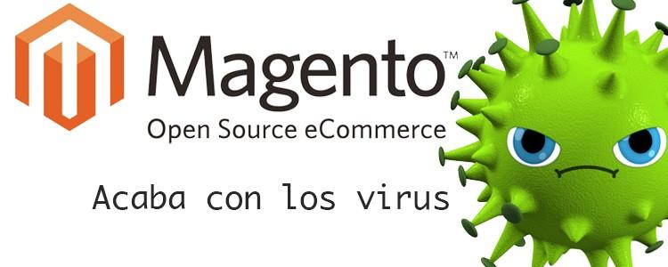 Quitar virus en Magento