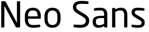 Fuente Neo Sans
