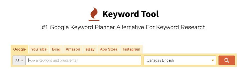 keyword tool otra herramiento seo